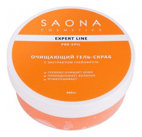 Скраб преред депиляцией с экстрактом грейпфрута Expert Line Pre-Epil Scrub Gel Grapefruit 300мл