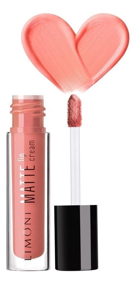Матовая жидкая помада-крем Matte Lip Cream 4,5мл: Помада 02
