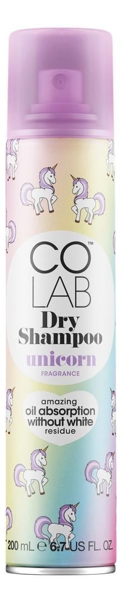 Сухой шампунь для волос прозрачный Unicorn 200мл (мистический аромат)