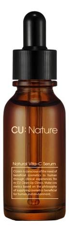 Сыворотка для лица с витамином C CU: Nature Natural Vita C Serum 20мл сыворотка для лица с витамином с elements vitamin c serum 20мл