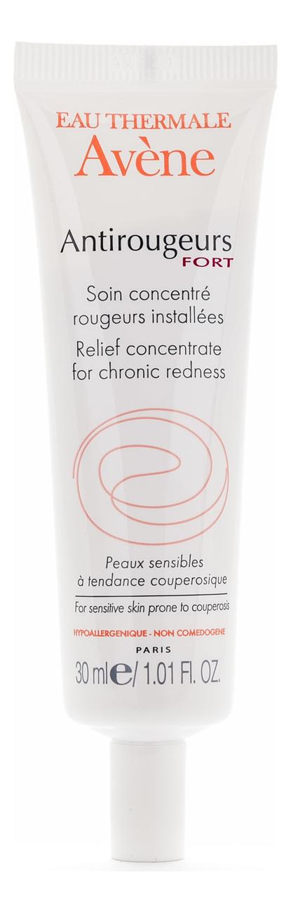 Крем от купероза для лица и тела Antirougeurs Fort Soin Concentre Rougeurs Installees 30мл avene antirougeurs fort