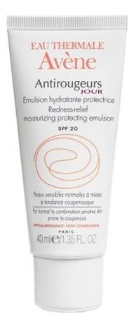 Эмульсия для лица от покраснений Antirougeurs Jour Emulsion Hydratante Protectrice 40мл avene antirougeurs fort