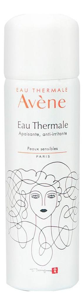 Термальная вода для лица и тела Eau Thermale Apaisant: Термальная вода 50мл eau thermale avene ru