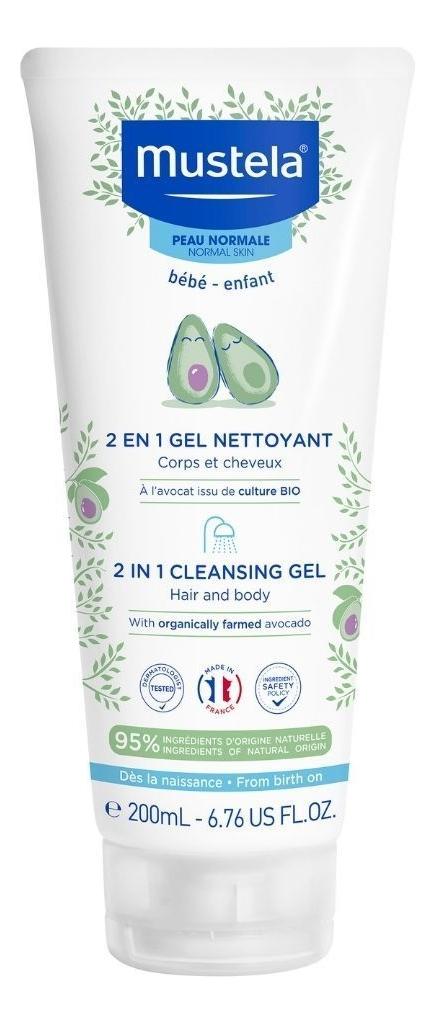 Гель-шампунь для детей 2en1 Cheveux Et Corps 200мл клоран гель для детей