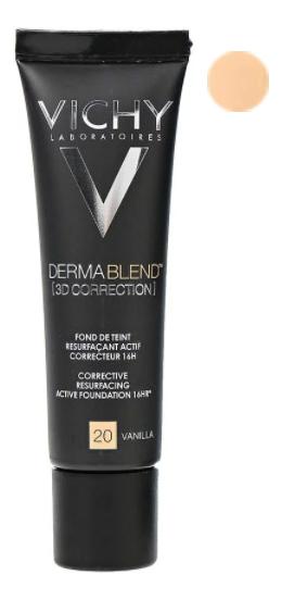 Корректирующая тональная основа Dermablend 3D Correction 30мл: 20 Vanilla