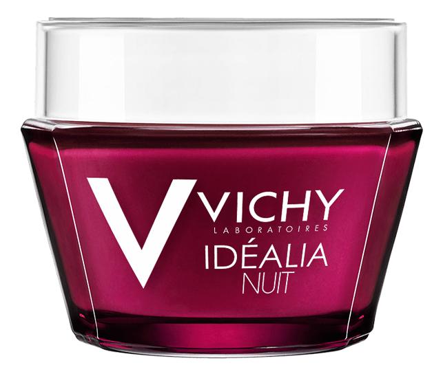 Ночной восстанавливающий бальзам-гель для лица Idealia Night 50мл vichy пилинг для лица idealia ночной активирующий сияние кожи 100 мл