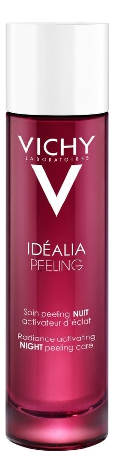 Ночной пилинг для лица Idealia Peeling Radiance Activating Night 100мл виши пилинг ночной idealia