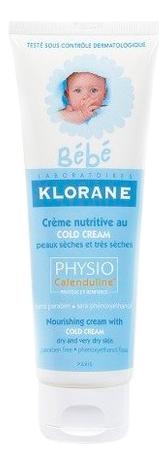 Питательный крем для лица и тела Bebe Creme Nutritive Au Cold Cream 40мл восстанавливающий питательный крем для лица eau thermale creme nutritive revitalisante 50мл