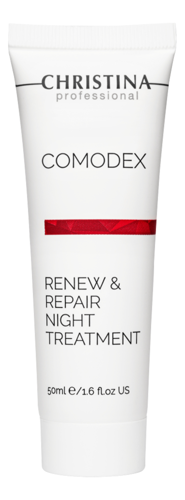 Ночная обновляющая сыворотка для лица Comodex Renew & Repair Night Treatment 50мл обновляющая сыворотка с полифенолами винограда 100 мл swisspure для лица