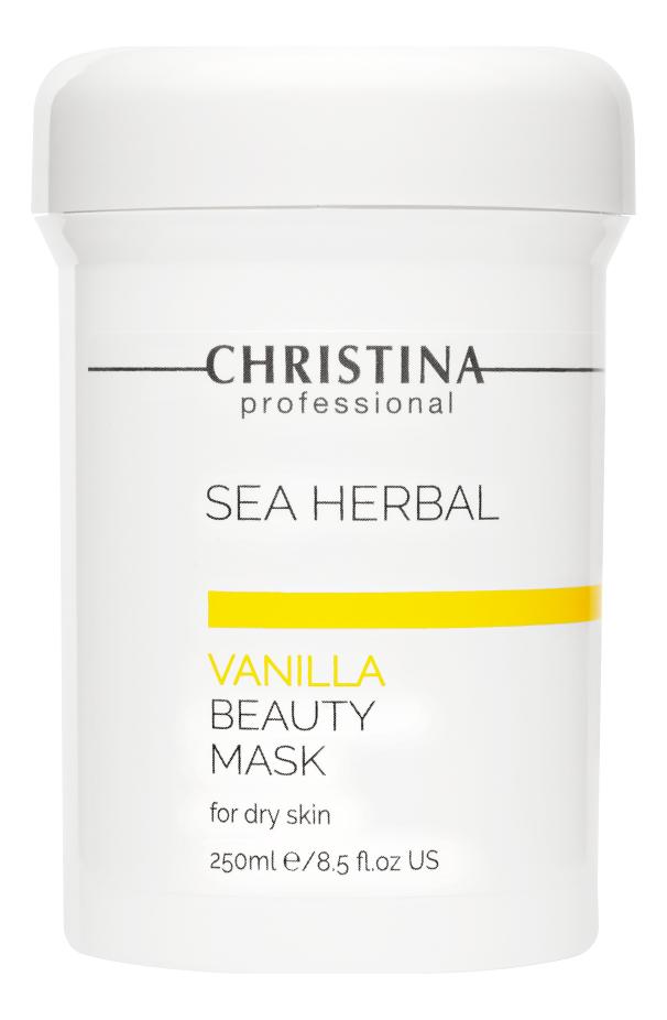 Маска для лица на основе морских трав Ваниль Sea Herbal Beauty Mask Vanilla: Маска 250мл