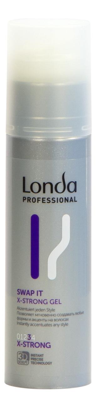 Гель для укладки волос Swap It X-Strong Gel: Гель 100мл