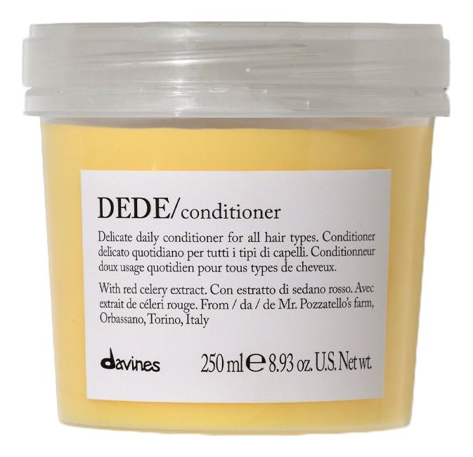 Деликатный кондиционер для волос Dede Conditioner 250мл davines деликатный несмываемый кондиционер спрей dede 250 мл