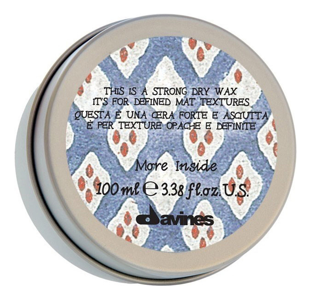 Сухой воск для волос More Inside 100мл: Воск 100мл