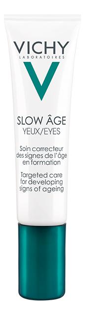 Укрепляющий крем для контура глаз Slow Age Augen 15мл vichy крем для контура глаз