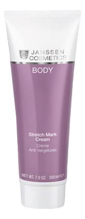 Крем против растяжек Body Stretch Mark Cream 200мл крем для тела против растяжек stretch mark cream fast absorbing 200мл