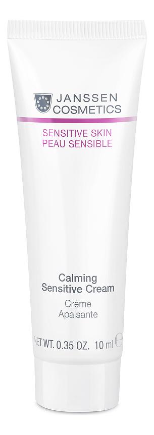 Успокаивающий крем для лица Sensitive Skin Peau Sensible Calming Sensitive Cream: Крем 10мл успокаивающий тонер для лица ac collection calming liquid intensive 125мл