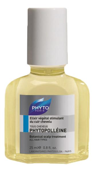 Эликсир для кожи головы с эфирными маслами Phytopolleine Elixir Vegetal Stimulant Du Cuir Chevelu 25мл со эликсир купить
