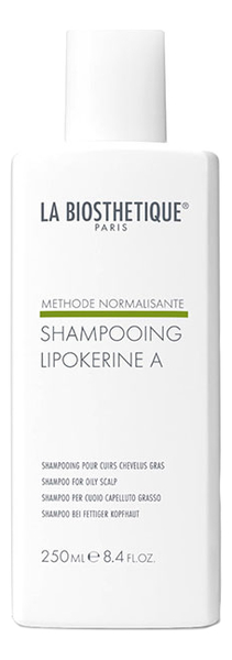 Шампунь для жирной кожи головы Lipokerine A Shampoo For Oily Scalp 250мл la biosthetique lipokerine a шампунь для жирной кожи головы 1000 мл