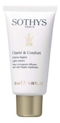 Крем для чувствительной кожи лица и кожи с куперозом Clarte & Confort Creme Legere: Крем 50мл крем для кожи bioskin salcura