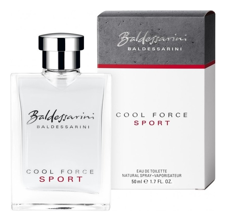 Baldessarini Cool Force Sport: туалетная вода 50мл hugo boss baldessarini cool force туалетная вода тестер 90 мл