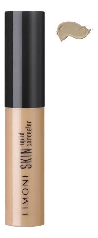 Консилер для кожи вокруг глаз Skin liquid concealer 2г: № 03 консилер matte effect concealer 3 2г mc 05 light medium
