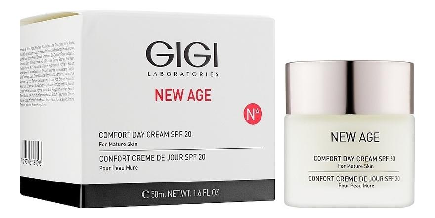 Крем дневной для лица Комфорт New Age Comfort Day Cream SPF15: Крем 50мл gigi крем комфорт ночной new age comfort night cream 50 мл