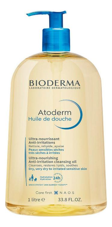 Масло для душа Atoderm Ultra-Nourishing Anti-Irritation Shower Oil: Масло 1000мл масло для душа ароматика ароматика ar048lwexeu7