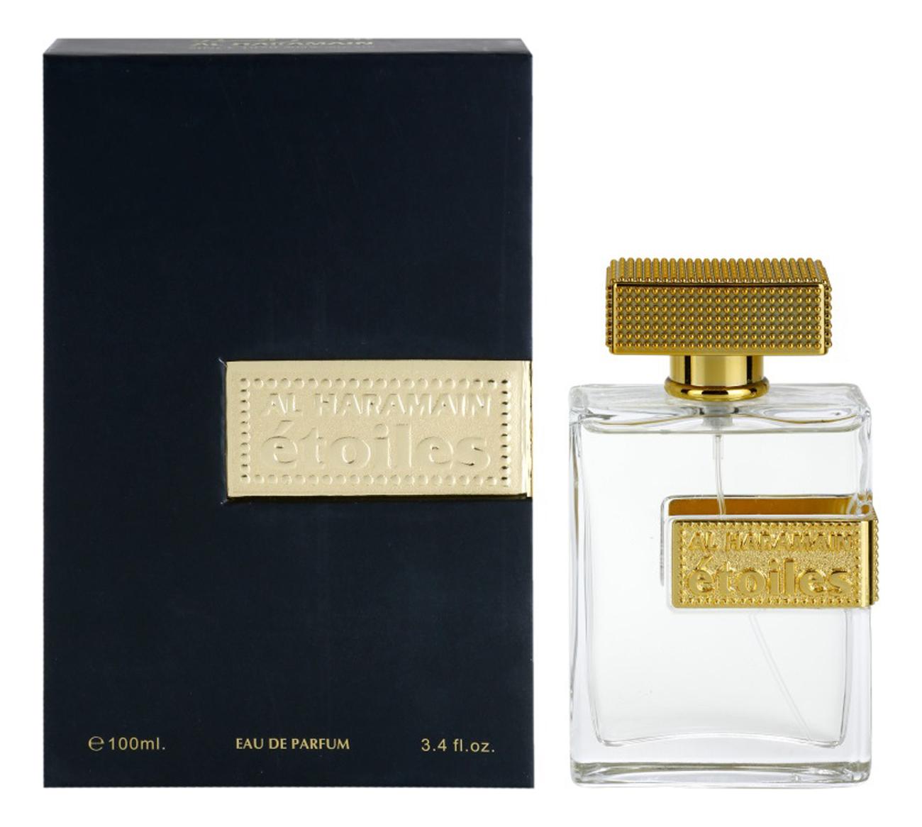 Al Haramain Perfumes Etoiles Gold: парфюмерная вода 100мл al haramain perfumes rain dance pink парфюмерная вода 100мл