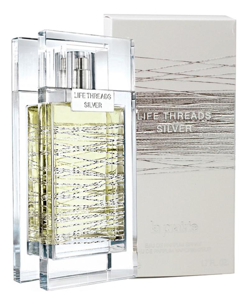 La Prairie Life Threads Silver: парфюмерная вода 50мл la prairie life threads emerald туалетные духи тестер 50 мл