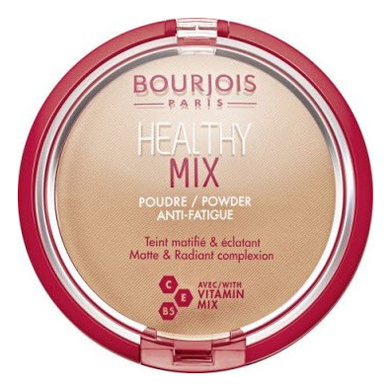 Пудра для лица Healthy Mix Powder 11г: 04 Light Bronze bourjois healthy mix powder