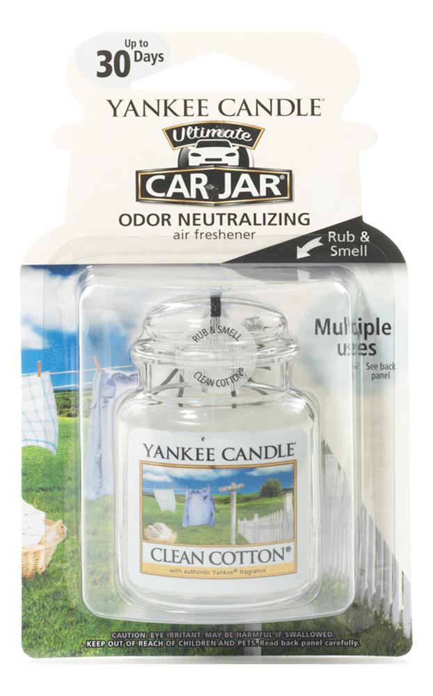 Гелевый ароматизатор для автомобиля Clean Cotton гелевый ароматизатор для автомобиля vanilla cupcake