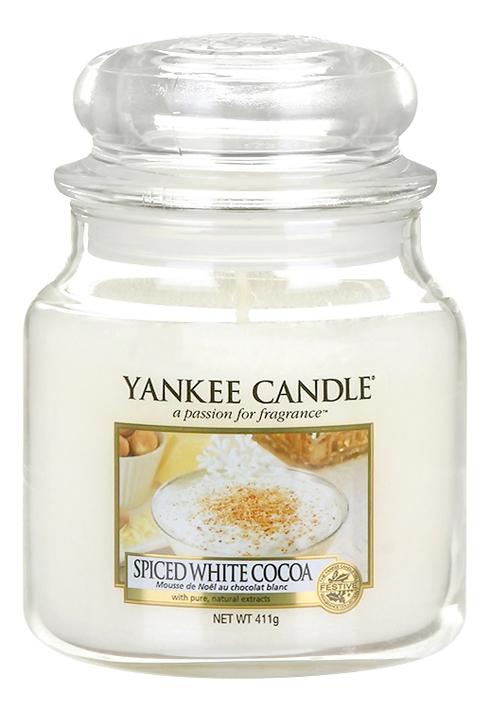 Ароматическая свеча Spiced White Cocoa: Свеча 411г ароматическая свеча moonlit blossoms свеча 411г