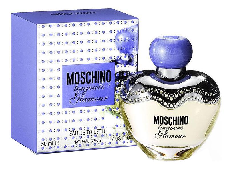 Moschino Toujours Glamour: туалетная вода 50мл moschino toujours glamour