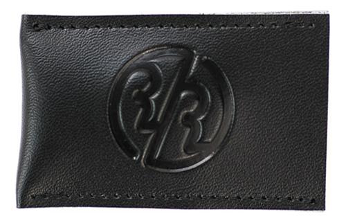 Чехол для лезвия Т-образной бритвы Genuine Leather Sheath (черная кожа)