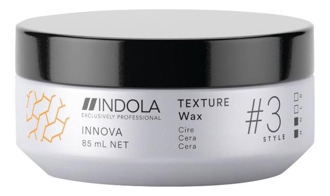 Фото - Текстурирующий воск для укладки волос Innova Texture Wax 85мл system 4 воск текстурирующий для укладки волос puffed look texturizing wax 100 мл