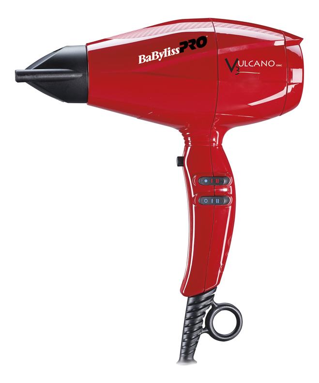 Фен для волос Vulcano BAB6180IRE 2200W (2 насадки) фен babyliss bab7000irge rapido rose gold ferrari 2200w bab7000irge
