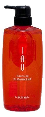Очищающий аромашампунь для ежедневного ухода IAU Cleansing Clearment: Шампунь 600мл аромакрем для волос шелковистой текстуры для укрепления 600 мл lebel iau infinity aurum