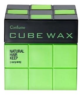 Воск для укладки волос Confume Cube Wax Natural Hair Keep 80г недорого