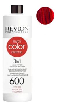 Краска для волос Nutri Color Creme 600 Fire Red: Краска 750мл крем краска для волос indola color red