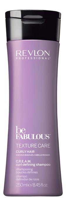 Шампунь для вьющихся волос Be Fabulous Texrure Care Curly Shampoo: Шампунь 250мл укрепляющий шампунь для роста волос care tec shampoo шампунь 250мл