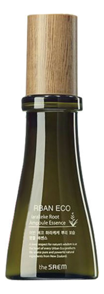 Эссенция питательная с экстрактом новозеландского льна Urban Eco Harakeke Root Ampoule Essence 55мл глубоко увлажняющий крем с экстрактом новозеландского льна the saem urban eco harakeke root deep cream