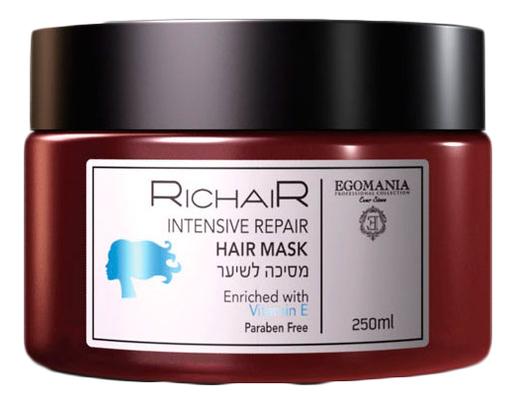 Маска активное восстановление волос с витамином E Richair Intensive Repair Mask 250мл
