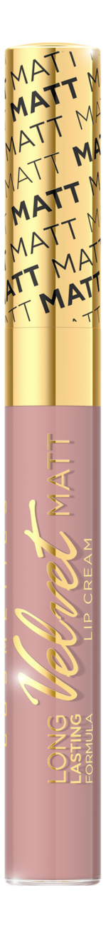 Жидкая матовая губная помада Velvet Matt Lip Cream 9мл: No 418 губная помада lip color 5г red matt