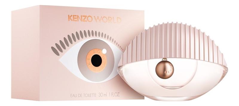 Kenzo World 2018: туалетная вода 30мл kenzo homme туалетная вода 30мл