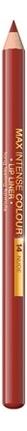 Контурный карандаш для губ Max Intense Colour Lip Liner 5г: 14 Nude senna lip liner smooth lip pencil pure nude карандаш для губ 1 08 г
