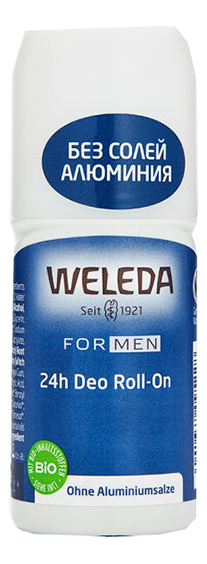 Дезодорант 24h Deo Roll-On 50мл weleda дезодорант цитрусовый 24 часа roll on 50 мл