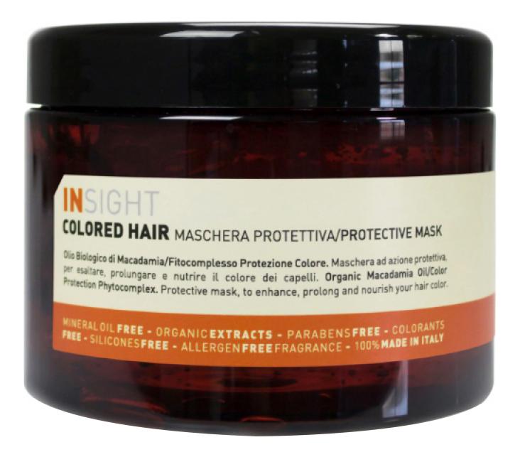 Защитная маска для волос с экстрактом хны Colored Hair Protective Mask: Маска 500мл
