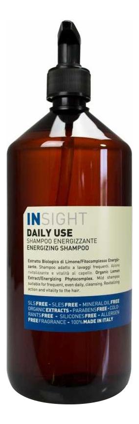 Шампунь для волос с экстрактом лимона Daily-Use Energizing Shampoo: Шампунь 900мл