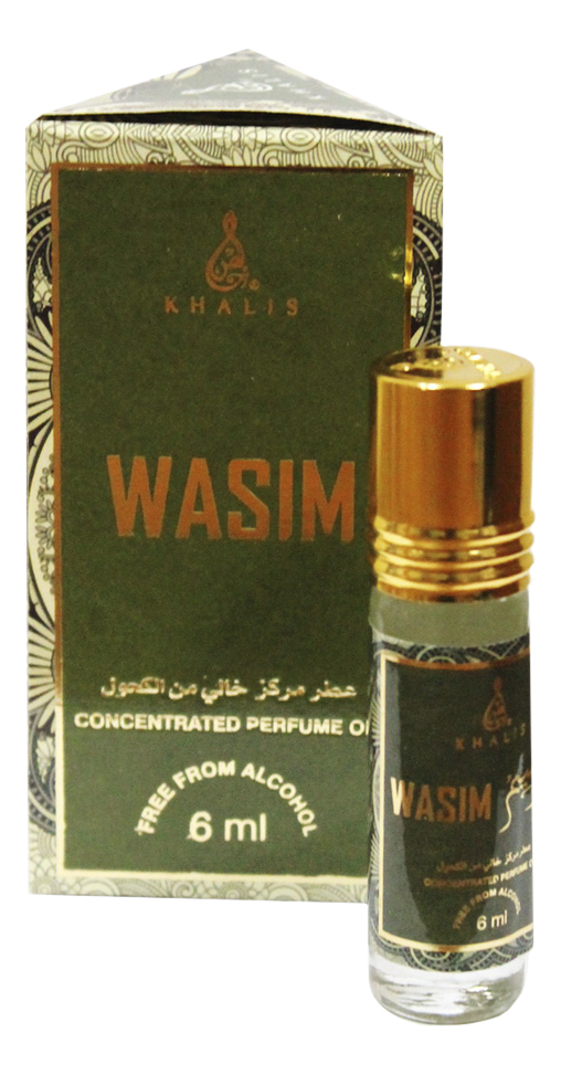 Khalis Wasim: масляные духи 6мл khalis noor масляные духи 6мл