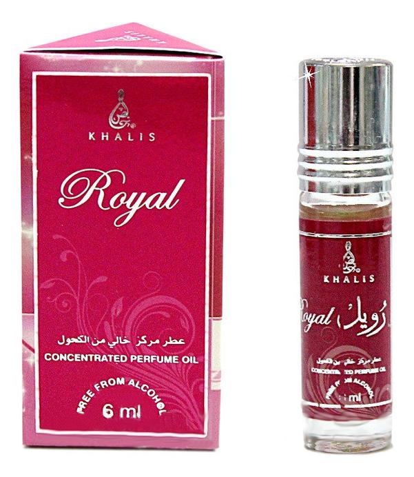 Khalis Royal: масляные духи 6мл khalis noor масляные духи 6мл
